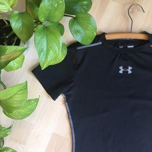 UNDER ARMOUR Heat Gear UFP 50+ Tshirt Black XS
